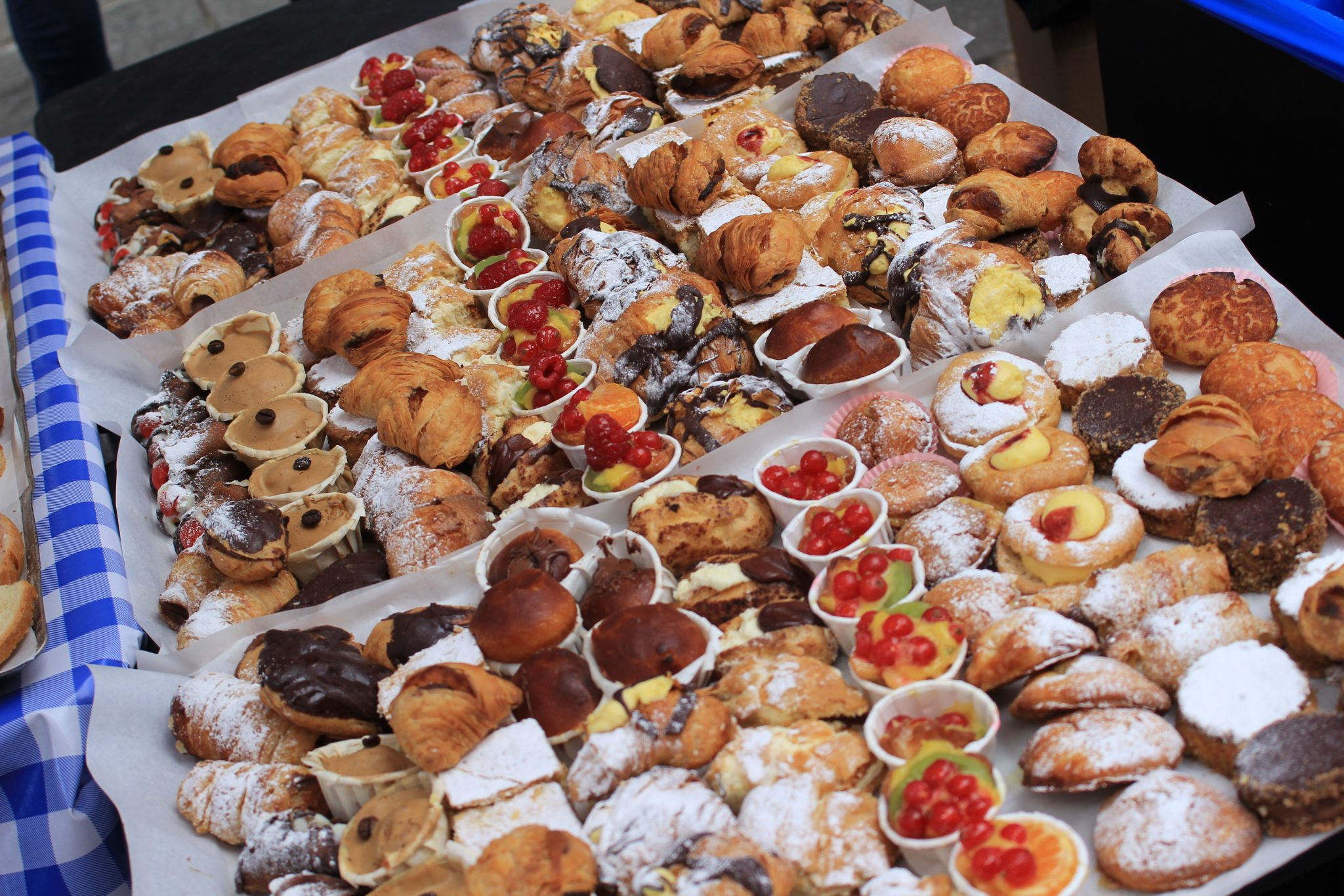CANAPES AND PASTRIES